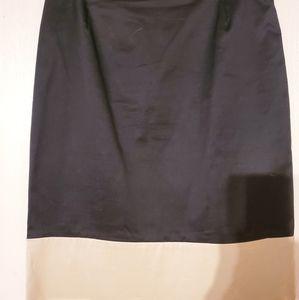 Anne Klein New York Black & Cream Skirt